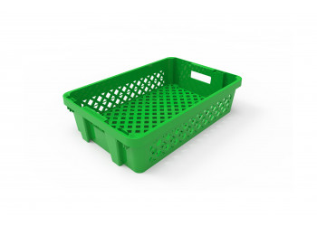 Plastic Storage crate Ventilated 60x40x15cm