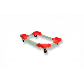 MOBILE PLASTIC WHEELED DOLLY