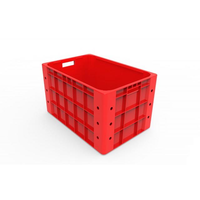 Plastic Storage Closed Crate 60 x 40 x 35cm