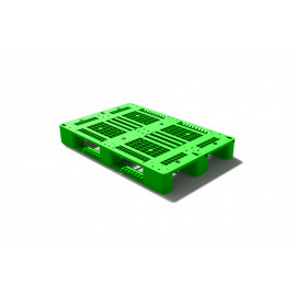 PLASTIC PALLET ST-09 3 RUNNER 1200 x 800 x 150MM