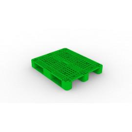 PLASTIC PALLET ST-13 3 RUNNER 1200 x 1000 x 150MM