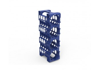 Upright Water Bottle Rack