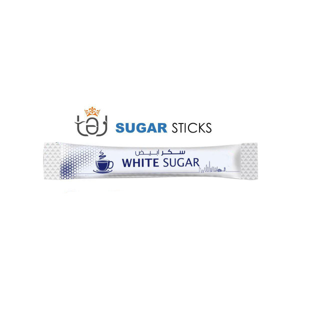Sugar Sticks - White 6g (1500 sticks per carton)