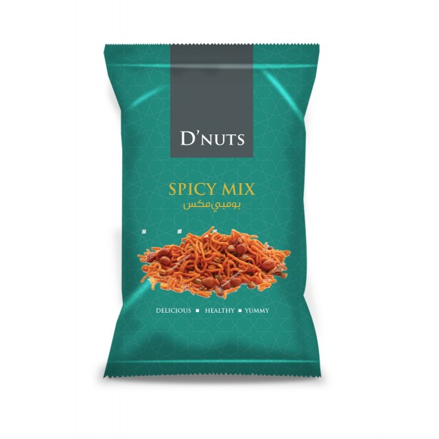 D NUTS SPICY MIX 13GM