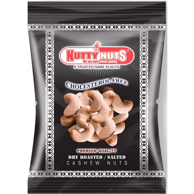 Cashews Dry Roasted & Salted 400g