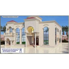 Artificial Stone Villa Design
