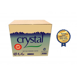 Crystal Bottled Drinking Water 1.5L (12 pcs per box)