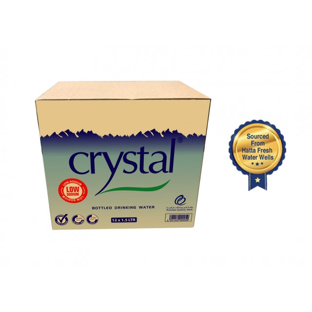 Crystal Bottled Drinking Water 1.5L