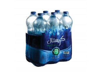 Crystal Bottled Drinking Water 1.5L Pack of 6