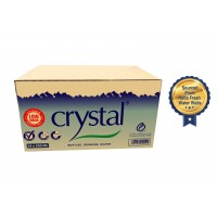 Crystal Bottled Drinking Water 500 ML ( 24 Pieces Per Box )