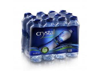 Crystal Bottled Drinking Water 330ml (12pcs per pack)