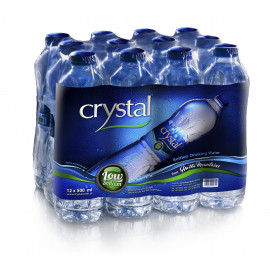 Crystal Bottled Drinking Water 500ml  ( 12 Pieces Per Pack)