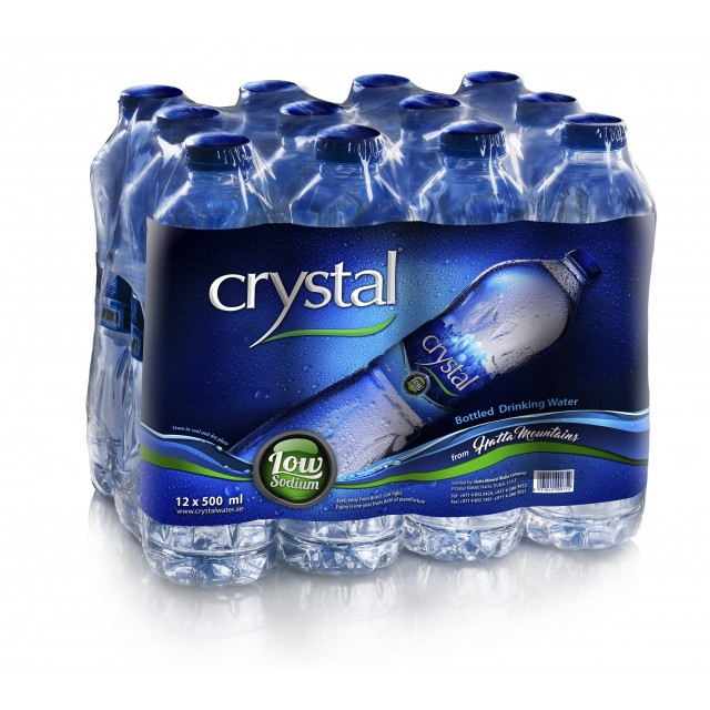 Crystal Bottled Drinking Water 500ml (12pcs per pack)