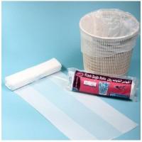TRASH BAG WHITE 50cm X 60 cm (per Kilogram)