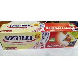 Super Touch Quick lock Zipper Bags (40bags per pack)