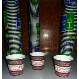 DISPOSABLE PAPER CUPS 2.5 oz (2000 cups per carton)