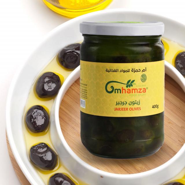 Jarjeer Black Olives ( 400 Grams )